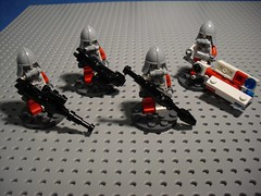 Żołnierze - Heavy Weapons (Śląski Hutas) Tags: lego bricks minifig figures soldiers military polska poland scifi futuristic