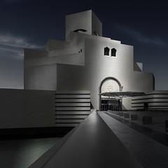 Museum of Islamic Art (Minas Stratigos) Tags: fine art doha sony a7rii selective color