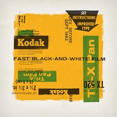Tri-X Pan (withayou) Tags: art artprint silkscreen kodak screenprint screenprinting trix trixpan kodaktrix filmart popart dada dadaism dadaist vintage