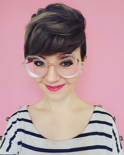 glasses geeky Girls with