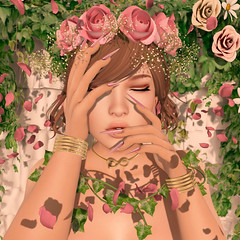 {Blog 173} Spring Bliss (veronica gearz) Tags: avi avatar alex astralia blog blogger blogging bloggers blogs maitreya mesh secondlife second sl summer spring life logo 2ndlife springbliss imeka persefona slink bf bfaccessories cae foxcity tresblah beauty petals roses rose wasabipills