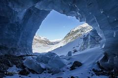 Aussicht / View (Claudia Bacher Photography) Tags: gletscher glacier gletscherhöhle glaciercave eis ice aussicht view berge montains schnee snow winter himmel heaven graubünden engadin schweiz suisse switzerland sonya7r