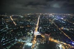 IMG_9826 (Ethene Lin) Tags: 台北101 隨意鳥地方 台北市 夜景 鳥瞰 信義區 信義路 大樓