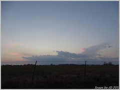 Evening Storms Building (Snapshots by JD) Tags: storm oklahoma hail rain