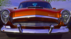 I'll Take Manhattan (oybay©) Tags: kaiser manhattan custom car automobile vistancia arizona carshow rare unusual beautiful lines outdoor darrin barrettjackson scottsdale auction circus fun annual showtime red redcar