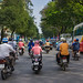 On the road in Ho Chi Minh City