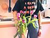 I wanna be a tomboy (Cristiana Carosella) Tags: crush love style outfit flowers tulip romantic romantique concept selfportrait girl kitchen interni portrait home grain
