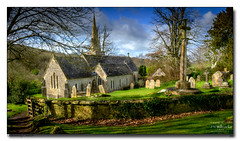 Littlebredy-Church (jeremy willcocks) Tags: littlebredy dorset uk england church spire graveyard gate trees colour building wall landscape jeremywillcocks wwwsouthwestscenesmeuk fujixpro2 xf1024mm