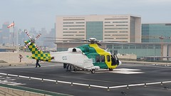 Life Flight of HGH,HMC, Doha,Qatar (Feras.Qadoura) Tags: lifeflight flight hamad general hospital doha qatar accident emergency dept life