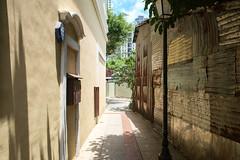 Pick Your Side (nathan.england79) Tags: china travel summer buildings alley asia fuji laneway macau taipa xe1 fujixe1 taipaoldtown