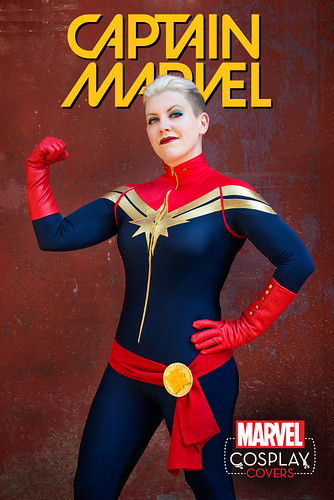 "Captain_Marvel_1_Cosplay_Variant • <a style=""font-size:0.8em;"" href=""http://www.flickr.com/photos/118682276@N08/20748284546/"" target=""_blank"">View on Flickr</a>"