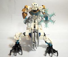 Kopaka and Melum concept (Triple #C) Tags: lego bionicle moc kopaka melum