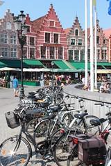 BRUGES (giannavalan) Tags: brugge bruges markt belgio biciclette