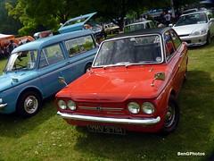 Sunbeam Stiletto (BenGPhotos) Tags: show red classic 1969 sports car crystal small palace event british stiletto sprint sunbeam 2015 motorsportatthepalace ymv371h