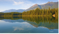 Morning Tranquility (johnwilly) Tags: reflections britishcolumbia canon5d ef1740l bwcpl dunbarlake
