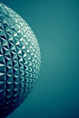 My favorite geodesic sphere, Spaceship Earth! (ohyeaphoto) Tags: world park lake architecture orlando epcot florida earth parks center disney sphere future vista theme spaceship wdw walt geodesic buena sse ohyeaphoto