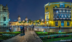 Plaza de Armas de Lima, Per (dleiva) Tags: plaza peru architecture america de arquitectura lima armas catedral per domingo ayuntamiento palacio leiva presidencial dleiva