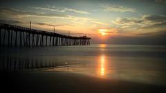 iPhone Sunrise at Rodanthe Pier (khurtwilliams) Tags: longexposure sunrise pier rodanthe iphone photogeneapp slowshutterapp