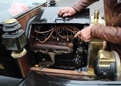 1914 Model T Ford Engine (Stuart Axe) Tags: henryford classic classiccar sheringham norfolk ford modelt fordmodelt vintage vintagecar history historic car uk england greatbritain gb veteran veterancar fmc fordmotorcompany touring sedan convertible iconic icon themodeltfordregisterofgreatbritain modeltford engine tinlizzie