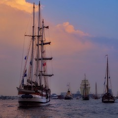 Heading Home #amsterdam #sail2015 (monique.anrochte) Tags: holland tourism water netherlands dutch amsterdam boat iamsterdam sailing ship tallship touristic nautic visitholland sail2015