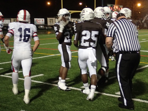 "Mount Carmel vs. St. Rita September 18, 2015 • <a style=""font-size:0.8em;"" href=""http://www.flickr.com/photos/134567481@N04/21351891319/"" target=""_blank"">View on Flickr</a>"