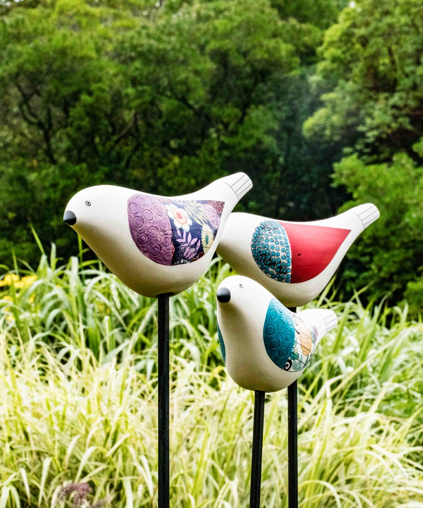 BIRD SONG BY MICHELE HANNAN [SCULPTURE IN CONTEXT 2015]-10805405