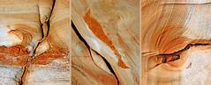 Greece, Aegan sea,   Chios island, Agia Ermioni, Karfas bay, rock's anatomy (bilwander) Tags: travel sea rock greece layers formations aegeansea bilwander   chiosisland