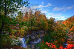 decew waterfalls (Rex Montalban Photography) Tags: autumn waterfall niagara decewfalls morningstarmill rexmontalbanphotography