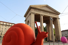 Milano - Porta Ticinese (corno.fulgur75) Tags: italien italy milan art architecture italia milano milaan snails lombardia italie neoclassical itália italië historicalbuilding milán lombardy lombardie escargots milão mailand neoclassique włochy itálie portaticinese mediolan cagnola luigicagnola crackingartgroup may2015