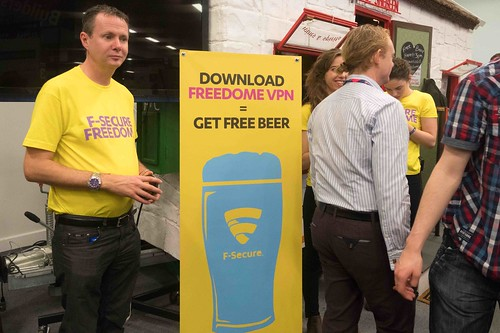 F-SECURE OPERATES A SHEBEEN AT THE WEB SUMMIT [DON'T WORRY IT WAS LEGAL]-109946
