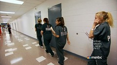 0830(1) (UJB88) Tags: woman green uniform cell prison jail arrested jumpsuit institution correctional restrained