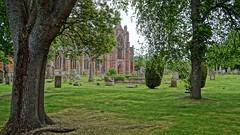 Melroese Abbey (tor-falke) Tags: friedhof building green history church abbey cemetery scotland kirche grün bäume baum gebäude cimetiere schottland historisch schottisch scotlandtour schottlandtour scotlandtours torfalke flickrtorfalke schottlandreise2015