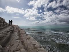 Scala dei Turchi #03 (Samuele Silva) Tags: sea sky panorama costa beautiful clouds landscape mare cielo panoramica scala sicily spiaggia sicilia turchi