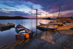Beauty sunrise wtih dramatic sky at lumut (Adly Wook) Tags: ray master getty rgnd sighray raymaster