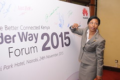 HUAWEI BROADER WAY FORUM 2015