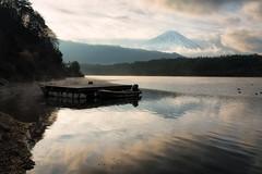 Morning at Saiko (Yuga Kurita) Tags: morning lake reflection nature japan landscape fuji mt mount fujisan saiko sai yamanashi fujiyama
