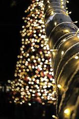 Feels like Christmas (in explore 11/25/2015) (kmanflickr) Tags: lighting christmas tree lights bokeh