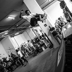 M1 Shred-31 (Willy_G91) Tags: bw white black square one hotel ramp media dubai noir december m1 board air small contest uae rage vert nb tricks tournament skate skateboard skater blanc sk8 shred darkstar 2015 neff trasher ragepresentsm1shred