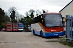 52657 PSU787 (PD3.) Tags: uk england southwest bus buses volvo coach trains hampshire winchester stagecoach psv pcv psu mistral 787 hants b10m 52657 joncheere psu787