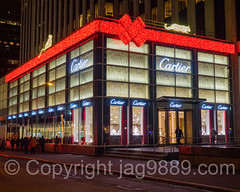 Cartier Fifth Avenue Flagship Store, Midtown Manhattan, New York City (jag9889) Tags: nyc newyorkcity usa house ny newyork building window retail architecture night store unitedstates display outdoor manhattan unitedstatesofamerica 5thavenue cartier jewelry midtown boutique fifthavenue storewindow windowdisplay 2015 gmbuilding jag9889 20151213