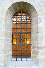 Couleurs de Dijon (nov.-dec. 2016) (godran25) Tags: dijon france bourgogne burgundy couleurs colors fenêtre arcature architecture grille orange