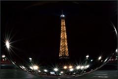 Magic Tower (Steff Photographie) Tags: tour eiffel flickr tower magic paris night lights art pics