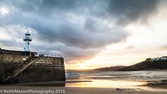 Smeaton's Pier, St Ives sunrise (KeithMasonPhotography (a.k.a. Scooter.john)) Tags: stives cornwall beach harbour lighthouse smeaton pier cloud colour sunrise
