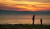 Let's Stick Together (fehlfarben_bine) Tags: nikond800 sunset lake frozen ice silhouettes fog berlin seascape mood nikon7002000mmf40