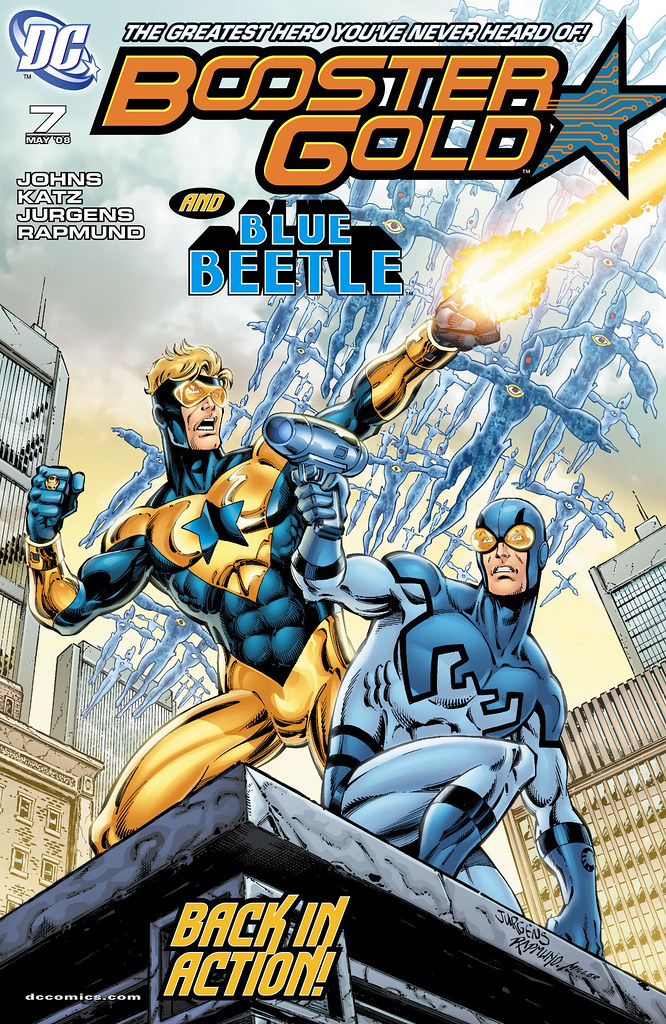 Booster Gold (2007) #7