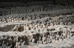 The Emperor's Playmobil (Marsel van Oosten) Tags: asia china shaanxi terracotta history archeology ancient old amazing incredible huge massive army soldiers buried excavation phototour photography phototrip workshop