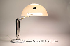 Imac G4 Lamp (irecyclart) Tags: apple geek imac lamps office upcycled