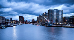 Laakhaven / The Hague 2017 (zilverbat.) Tags: denhaag longexposure longexposurenetherlands urban zilverbat clouds thehague thenetherlands timelife canon city hofstad harbor haven dutch dramatic dutchholland photography wallpaper water waterfront image visit travel nederland netherlands stedelijk afterdark avond avondfotografie availablelight flats bluehour laakhaven haagvliet devliet river laakhavens laak stadsdeel wijk neherkade europe world nieuwbouw funda wind winter industrial petroleumhaven