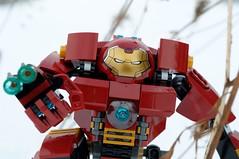 Hulkbuster-07 (Dafiiiiid) Tags: lego snow ironman hulkbuster