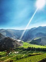 Sun (katherinecontreras) Tags: paihuano valledelelqui laserena regiondecoquimbo sky cerro sun rayosdesol despejado nature